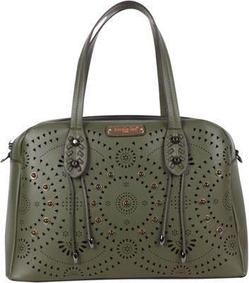 Nicole Lee Tanushri Shoulder Bag Olive - Nicole Lee Manmade Handbags