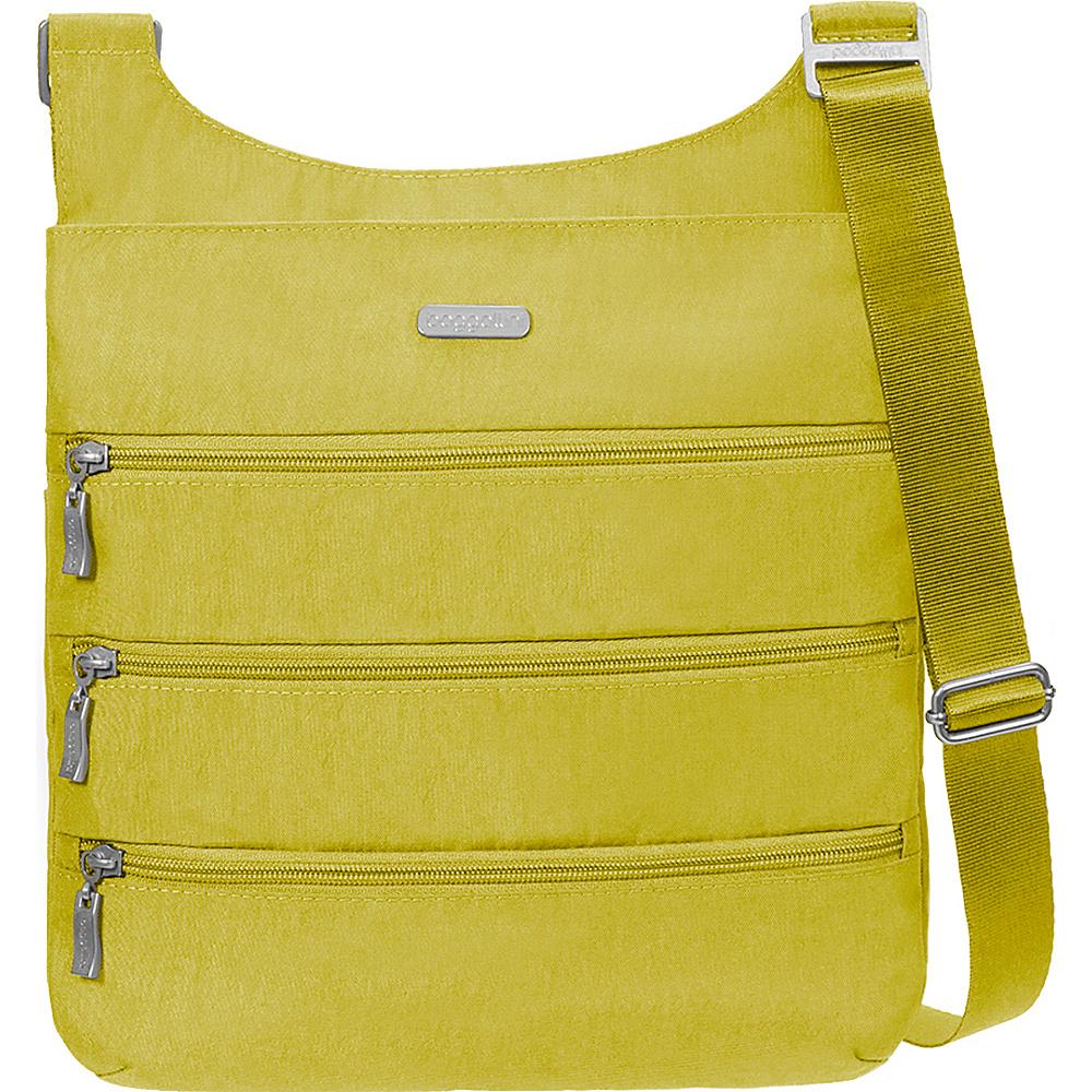 baggallini Big Zipper Bagg with RFID - Retired Colors Kiwi - baggallini Fabric Handbags - Handbags, Fabric Handbags