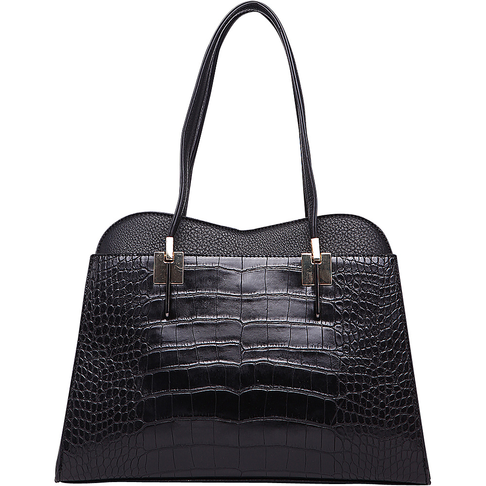 MKF Collection by Mia K. Farrow Envelope Shoulder Bag Black - MKF Collection by Mia K. Farrow Gym Bags - Sports, Gym Bags