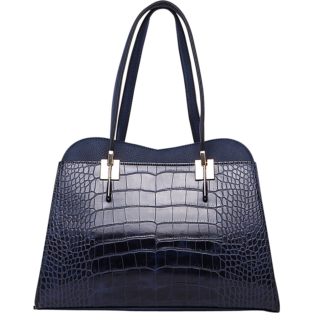MKF Collection by Mia K. Farrow Envelope Shoulder Bag Navy - MKF Collection by Mia K. Farrow Gym Bags - Sports, Gym Bags