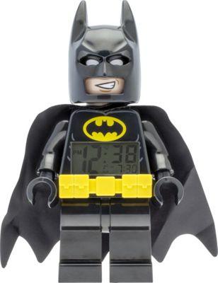LEGO Watches Batman Movie Batman Kids Minifigure Light Up Alarm Clock Black - LEGO Watches Travel Electronics