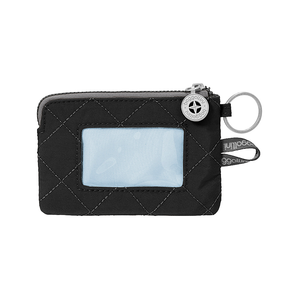 baggallini RFID Card Case Black/Charcoal - baggallini Womens Wallets - Women's SLG, Women's Wallets
