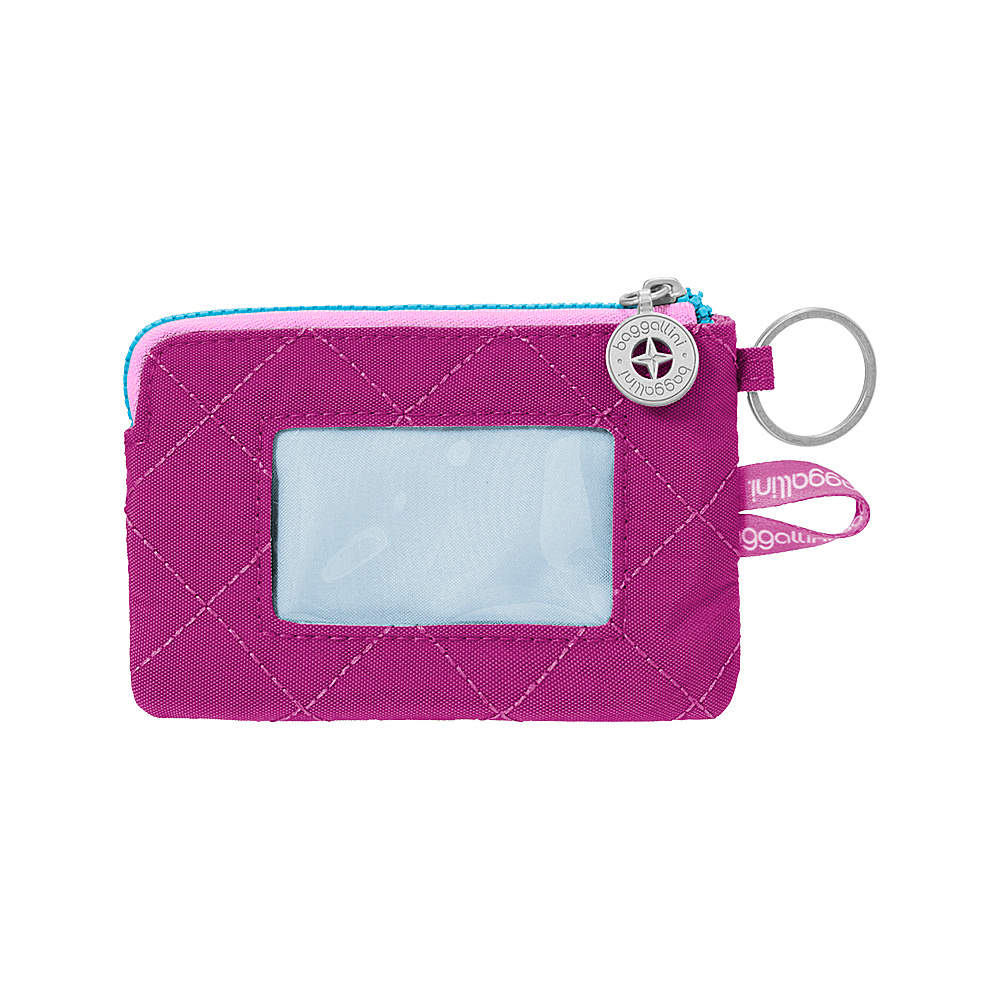 baggallini RFID Card Case Fuchsia/Pink - baggallini Womens Wallets - Women's SLG, Women's Wallets