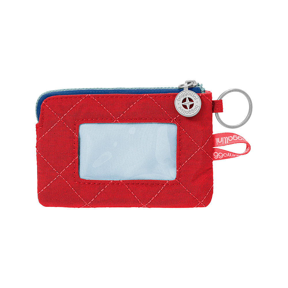 baggallini RFID Card Case Red/Navy - baggallini Womens Wallets - Women's SLG, Women's Wallets