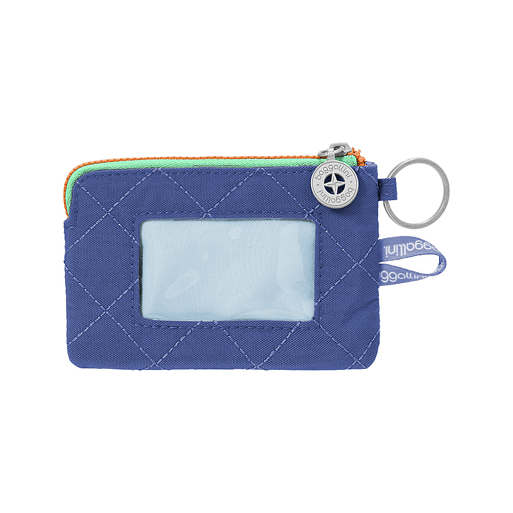 baggallini RFID Card Case Royal Blue/Mint - baggallini Womens Wallets - Women's SLG, Women's Wallets