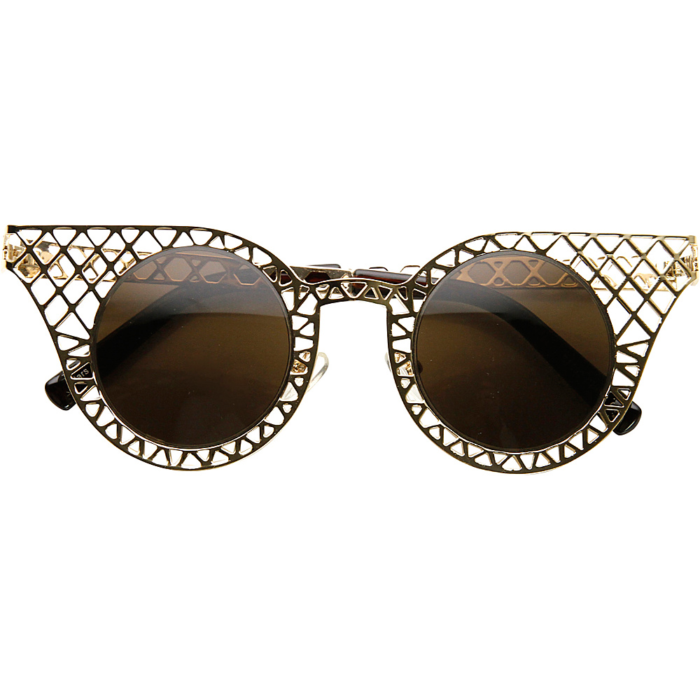 SW Global Cissy Cateye Fashion Sunglasses Gold - SW Global Eyewear - Fashion Accessories, Eyewear