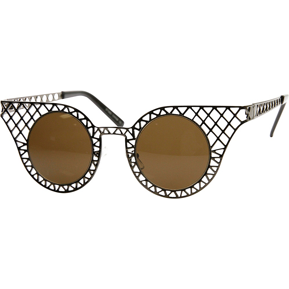 SW Global Cissy Cateye Fashion Sunglasses Silver - SW Global Eyewear - Fashion Accessories, Eyewear