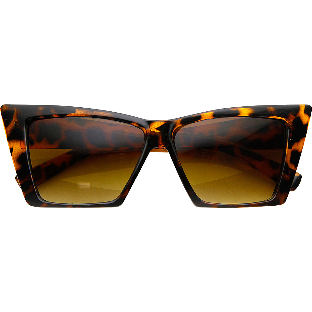 SW Global Holly Cateye Fashion Sunglasses Leopard - SW Global Eyewear - Fashion Accessories, Eyewear