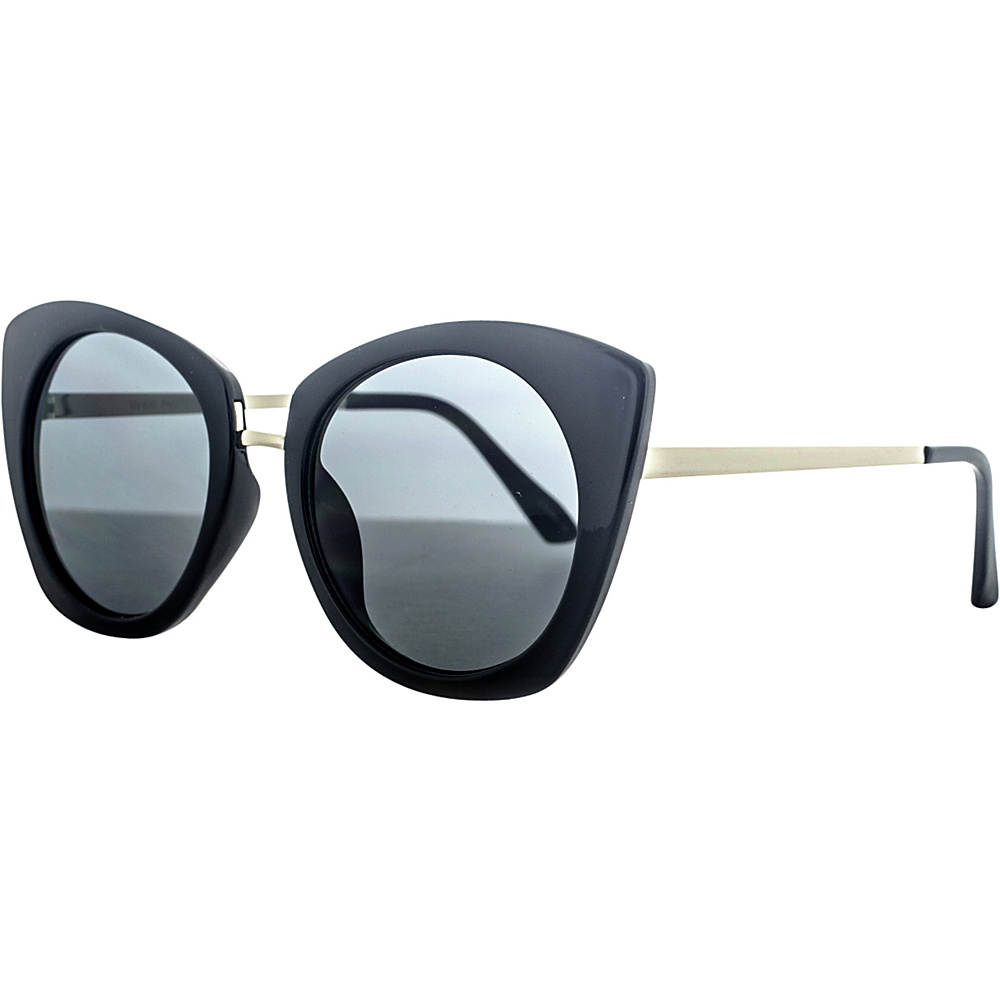 SW Global Urban Metal Crossbar Aviator UV400 Sunglasses Black Gold - SW Global Eyewear - Fashion Accessories, Eyewear