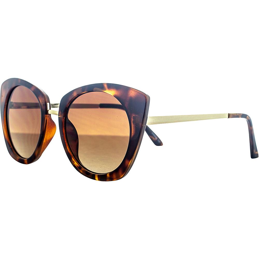 SW Global Urban Metal Crossbar Aviator UV400 Sunglasses Wood Gold - SW Global Eyewear - Fashion Accessories, Eyewear