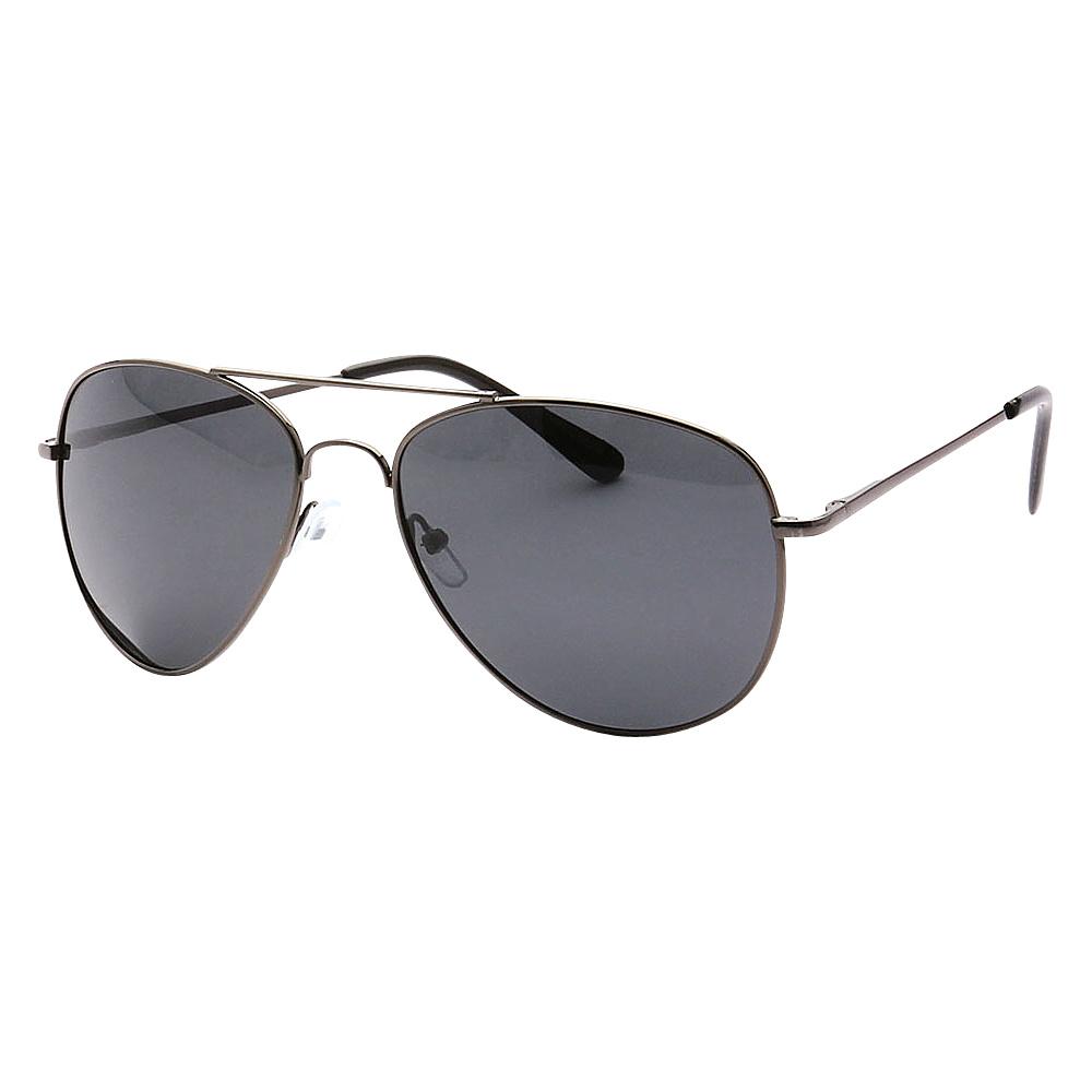 SW Global Polarized Ultra Light Weight Sport Aviator UV400 Sunglasses Grey Black - SW Global Eyewear - Fashion Accessories, Eyewear