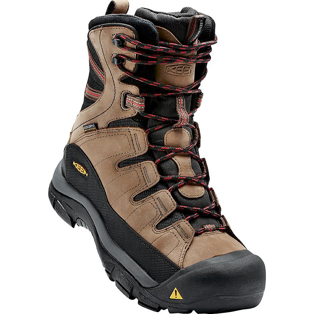 KEEN Mens Summit County Boot 9 - Dark Earth/Bossa Nova - KEEN Mens Footwear - Apparel & Footwear, Men's Footwear