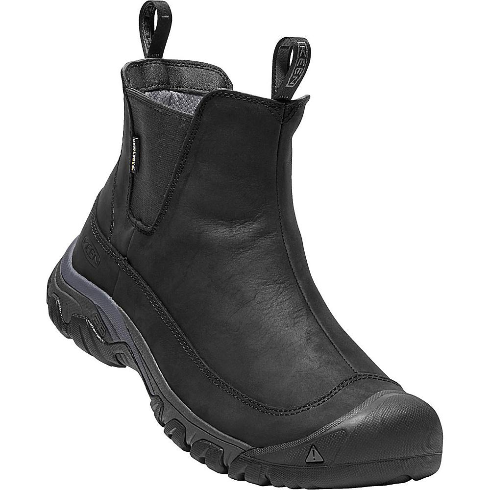 KEEN Mens Anchorage III Waterproof Boot 11.5 - Black/Raven - KEEN Mens Footwear - Apparel & Footwear, Men's Footwear
