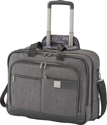 Titan Bags Power Pack Organizational 19 inch Business Wheeler Mixed Grey - Titan Bags Wheeled Business Cases