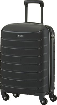 Titan Bags Limit Unbreakable 21 inch Hardside International Carry-On Spinner Luggage Black - Titan Bags Kids' Luggage