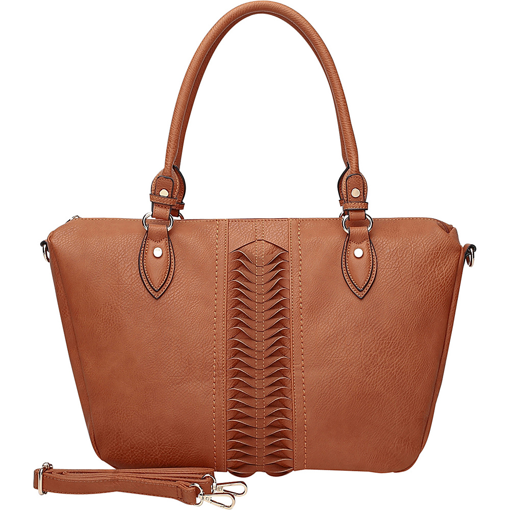 MKF Collection by Mia K. Farrow Indomitable Veita Tote Brown - MKF Collection by Mia K. Farrow Manmade Handbags - Handbags, Manmade Handbags