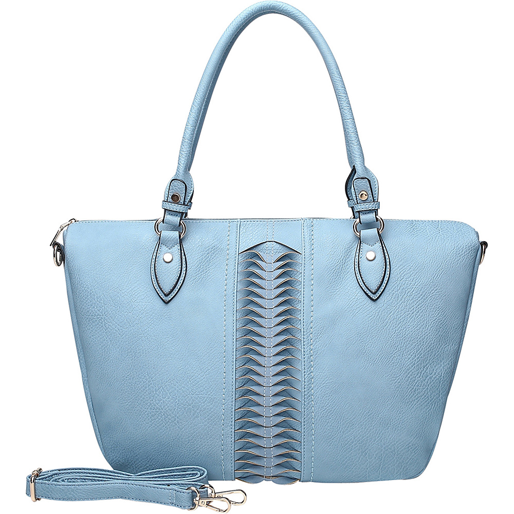 MKF Collection by Mia K. Farrow Indomitable Veita Tote Blue - MKF Collection by Mia K. Farrow Manmade Handbags - Handbags, Manmade Handbags