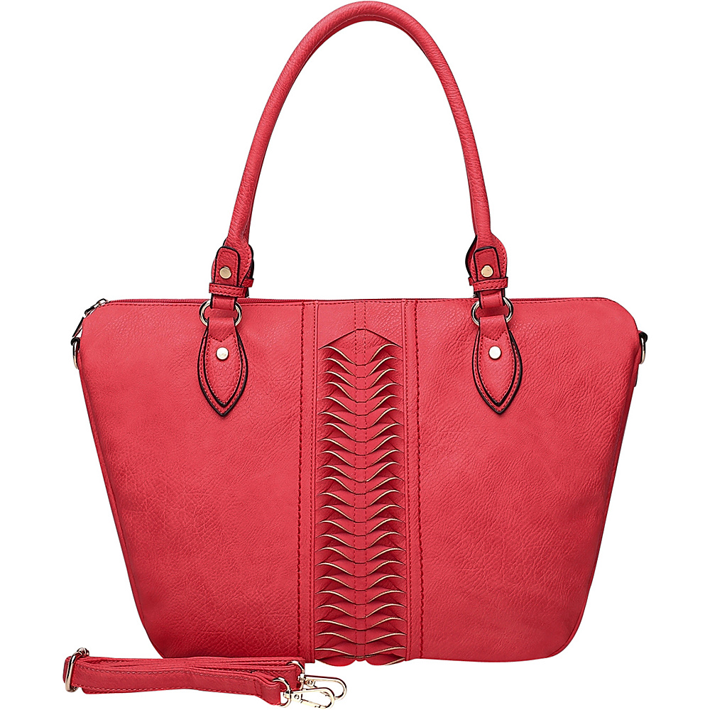 MKF Collection by Mia K. Farrow Indomitable Veita Tote Red - MKF Collection by Mia K. Farrow Manmade Handbags - Handbags, Manmade Handbags
