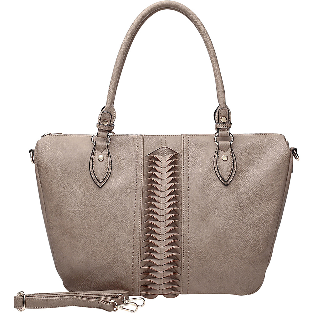 MKF Collection by Mia K. Farrow Indomitable Veita Tote Camel - MKF Collection by Mia K. Farrow Manmade Handbags - Handbags, Manmade Handbags