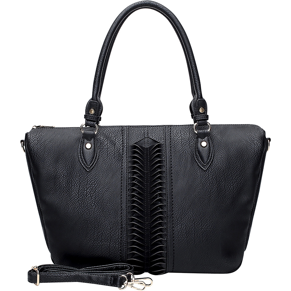 MKF Collection by Mia K. Farrow Indomitable Veita Tote Black - MKF Collection by Mia K. Farrow Manmade Handbags - Handbags, Manmade Handbags