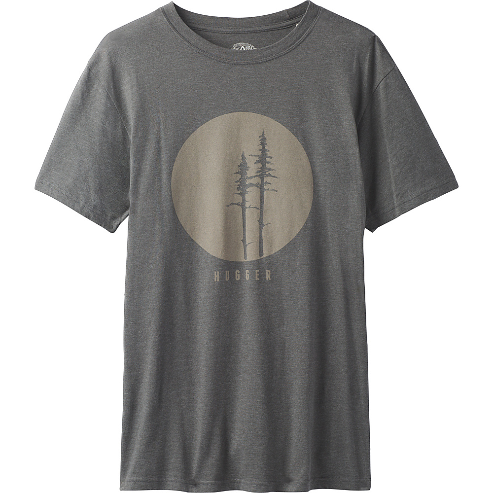 PrAna Tree Hugger T-Shirt XL - Charcoal - PrAna Mens Apparel - Apparel & Footwear, Men's Apparel