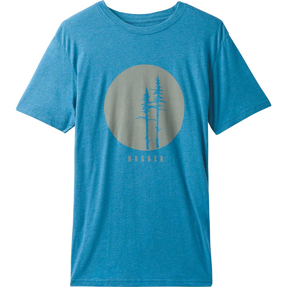 PrAna Tree Hugger T-Shirt XXL - River Rock Blue - PrAna Mens Apparel - Apparel & Footwear, Men's Apparel