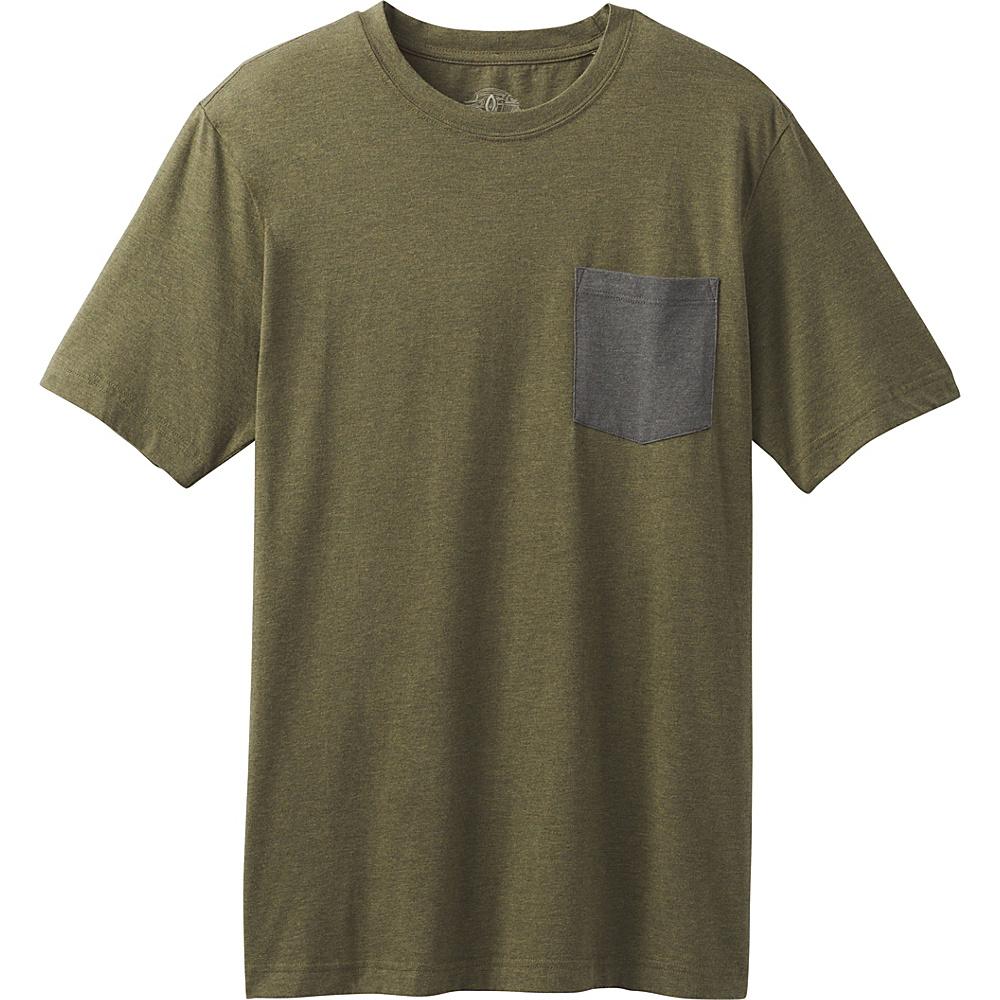 PrAna PrAna Pocket T-Shirt M - Cargo Green - PrAna Mens Apparel - Apparel & Footwear, Men's Apparel