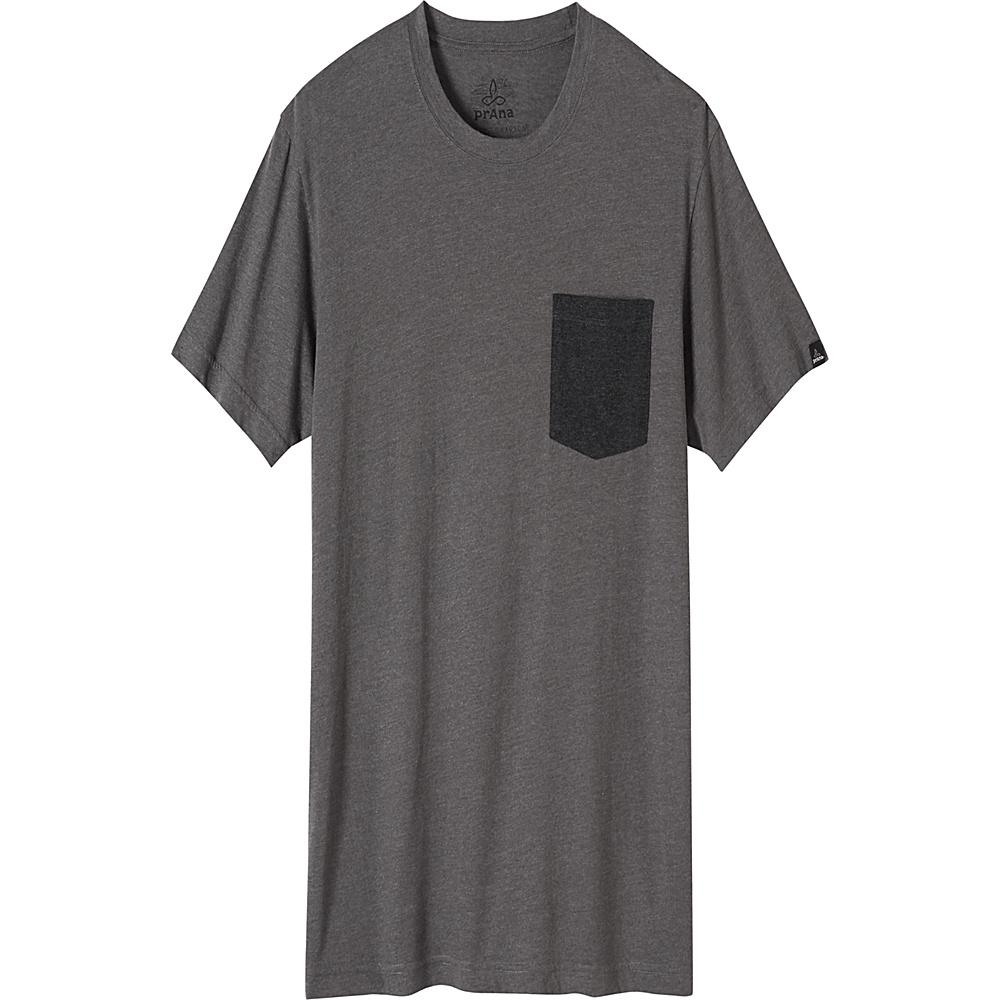 PrAna PrAna Pocket T-Shirt L - Charcoal - PrAna Mens Apparel - Apparel & Footwear, Men's Apparel
