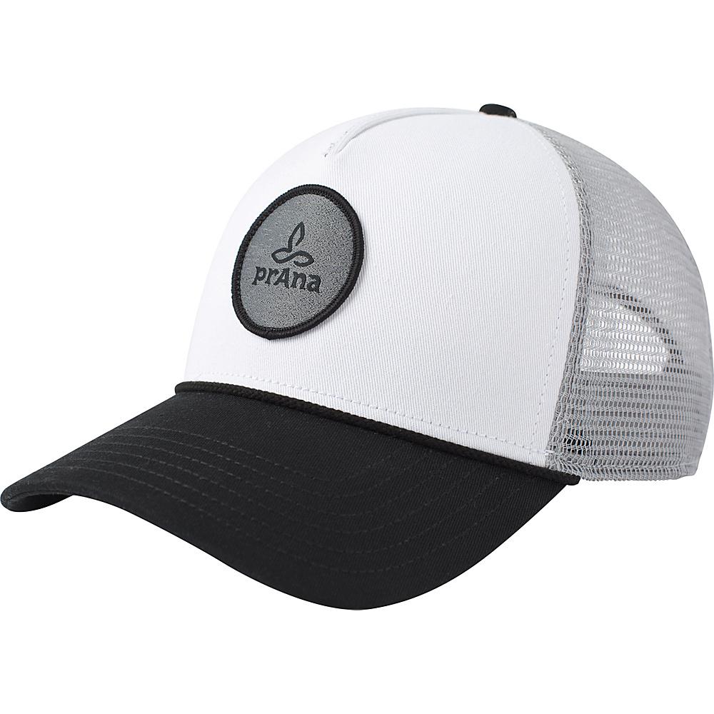 PrAna Patch Trucker Hat One Size - Black - PrAna Hats - Fashion Accessories, Hats