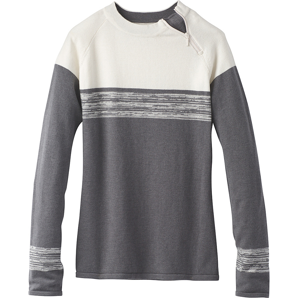 PrAna Mariana Sweater XL - Gravel - PrAna Womens Apparel - Apparel & Footwear, Women's Apparel