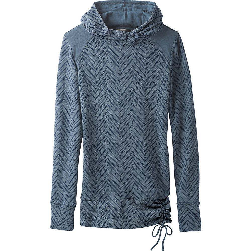 PrAna Leland Hoodie L - Bayou Blue - PrAna Mens Apparel - Apparel & Footwear, Men's Apparel