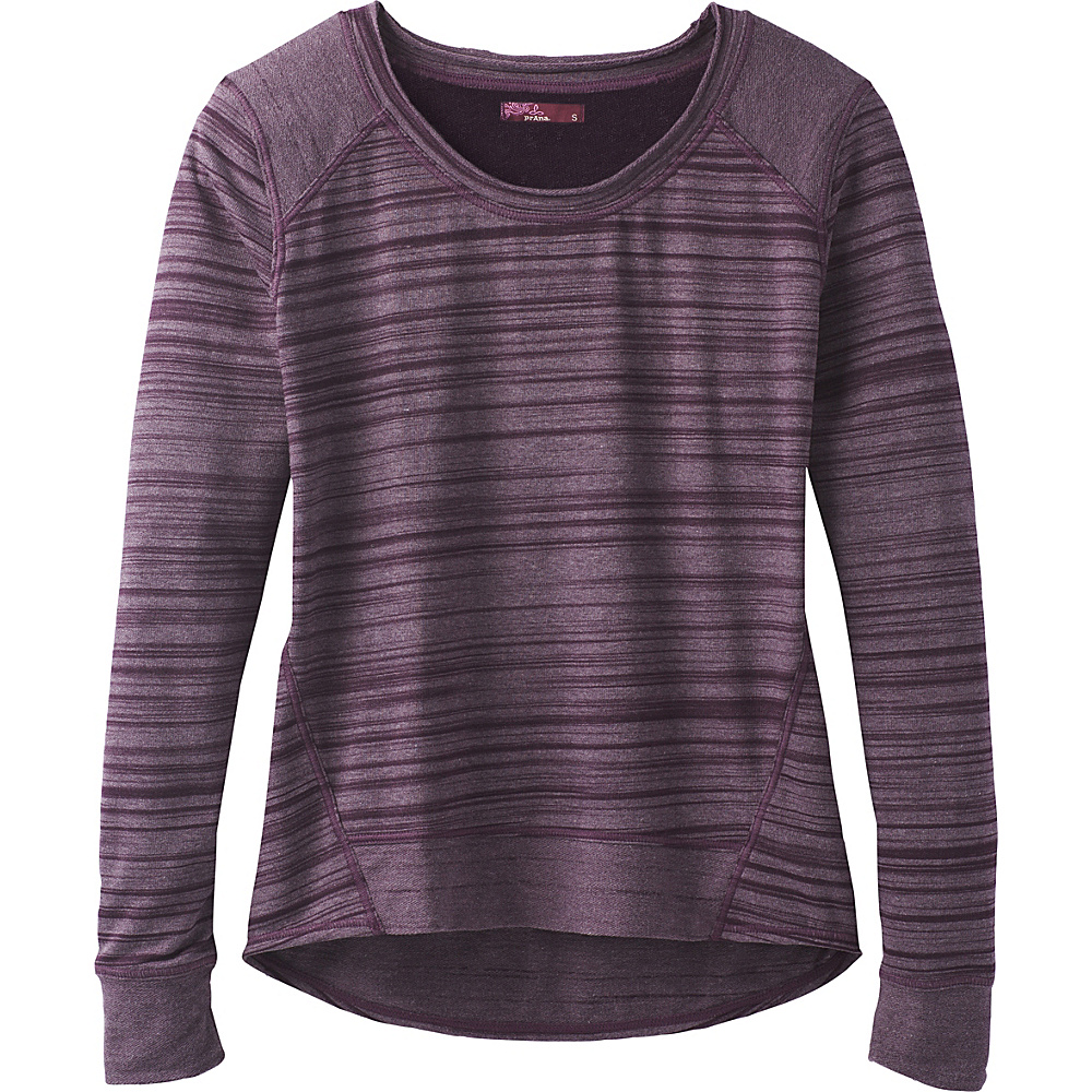 PrAna Fallbrook Top XS - Dark Plum - PrAna Womens Apparel - Apparel & Footwear, Women's Apparel
