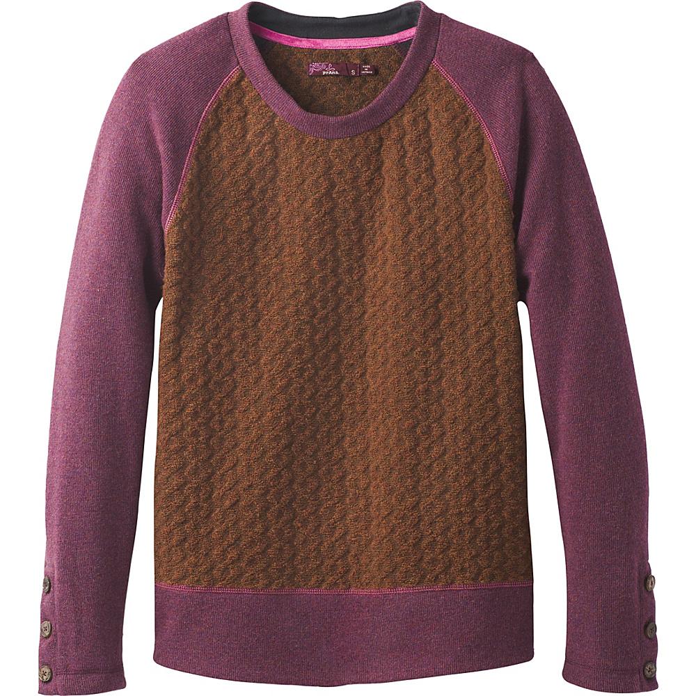 PrAna Aya Sweater XL - Auburn - PrAna Womens Apparel - Apparel & Footwear, Women's Apparel