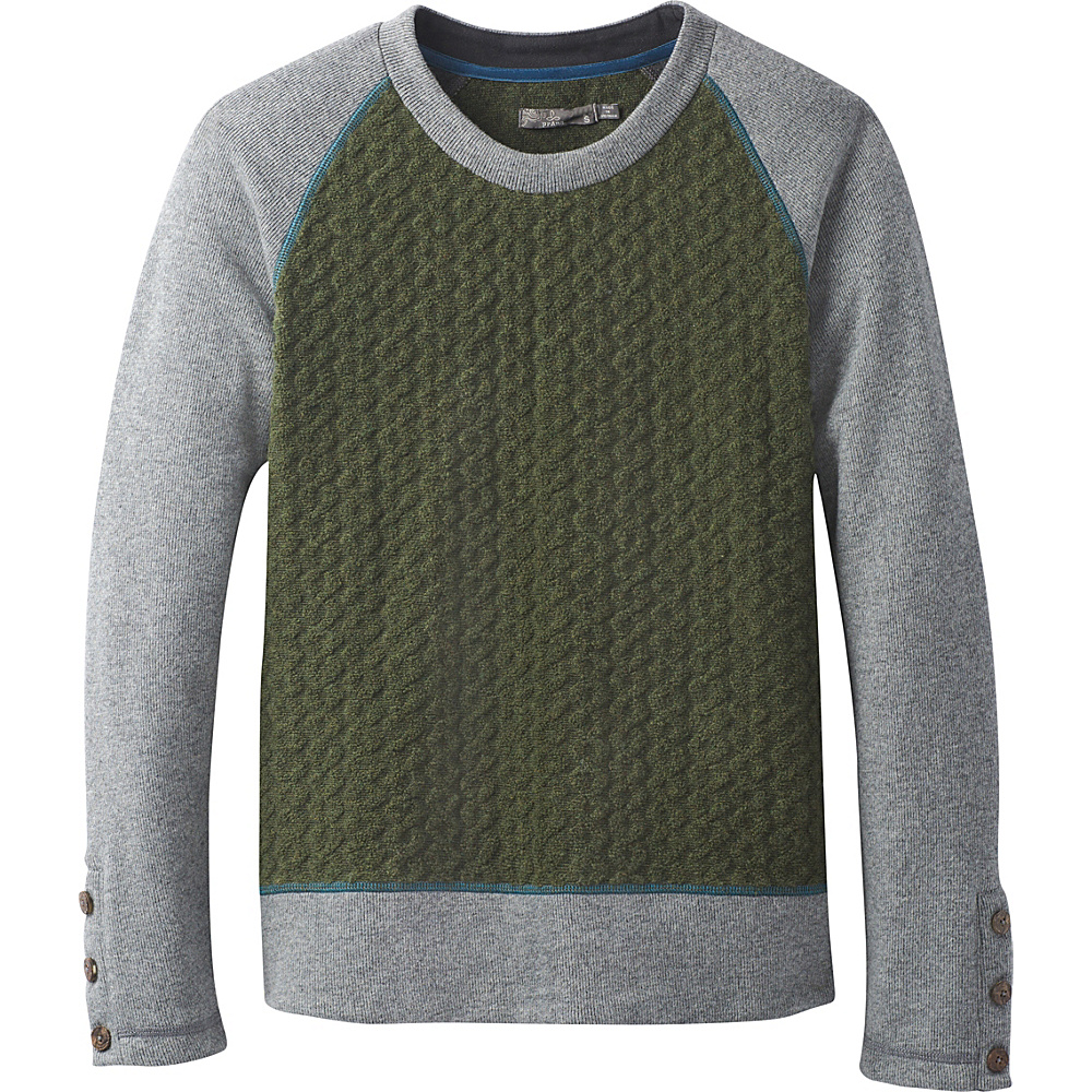 PrAna Aya Sweater L - Cargo Green - PrAna Womens Apparel - Apparel & Footwear, Women's Apparel