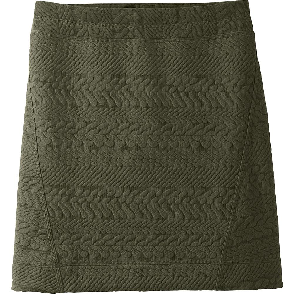 PrAna Macee Skirt L - Dark Olive Heather - PrAna Womens Apparel - Apparel & Footwear, Women's Apparel