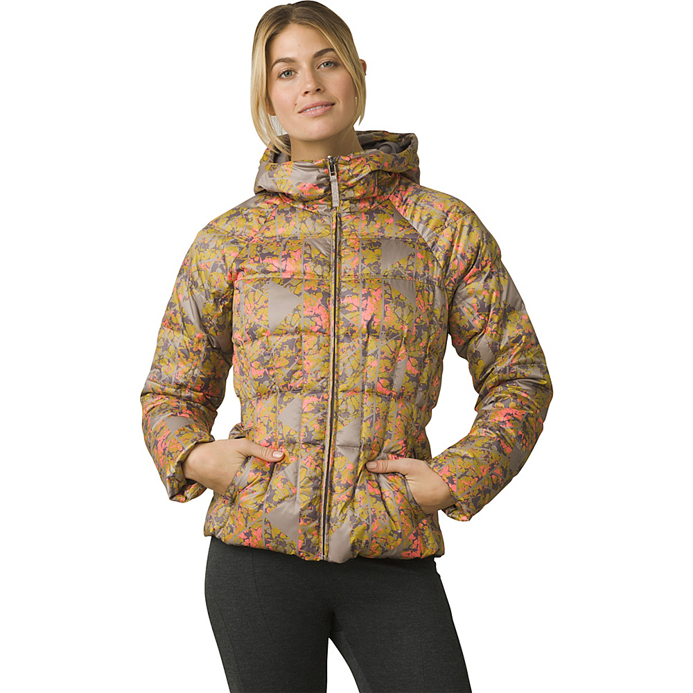 PrAna Imogen Jacket M - Earth Grey Wildflower - PrAna Womens Apparel - Apparel & Footwear, Women's Apparel