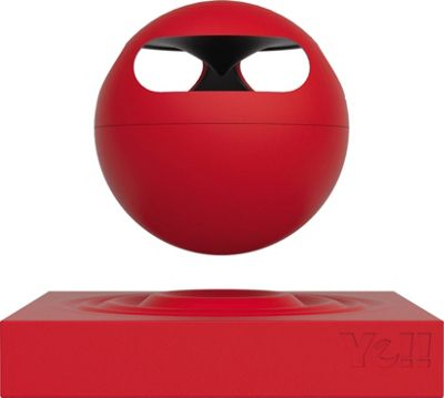 Yell by Voguestrap Hoveric Levitating Bluetooth Speaker Red - Yell by Voguestrap Headphones & Speakers