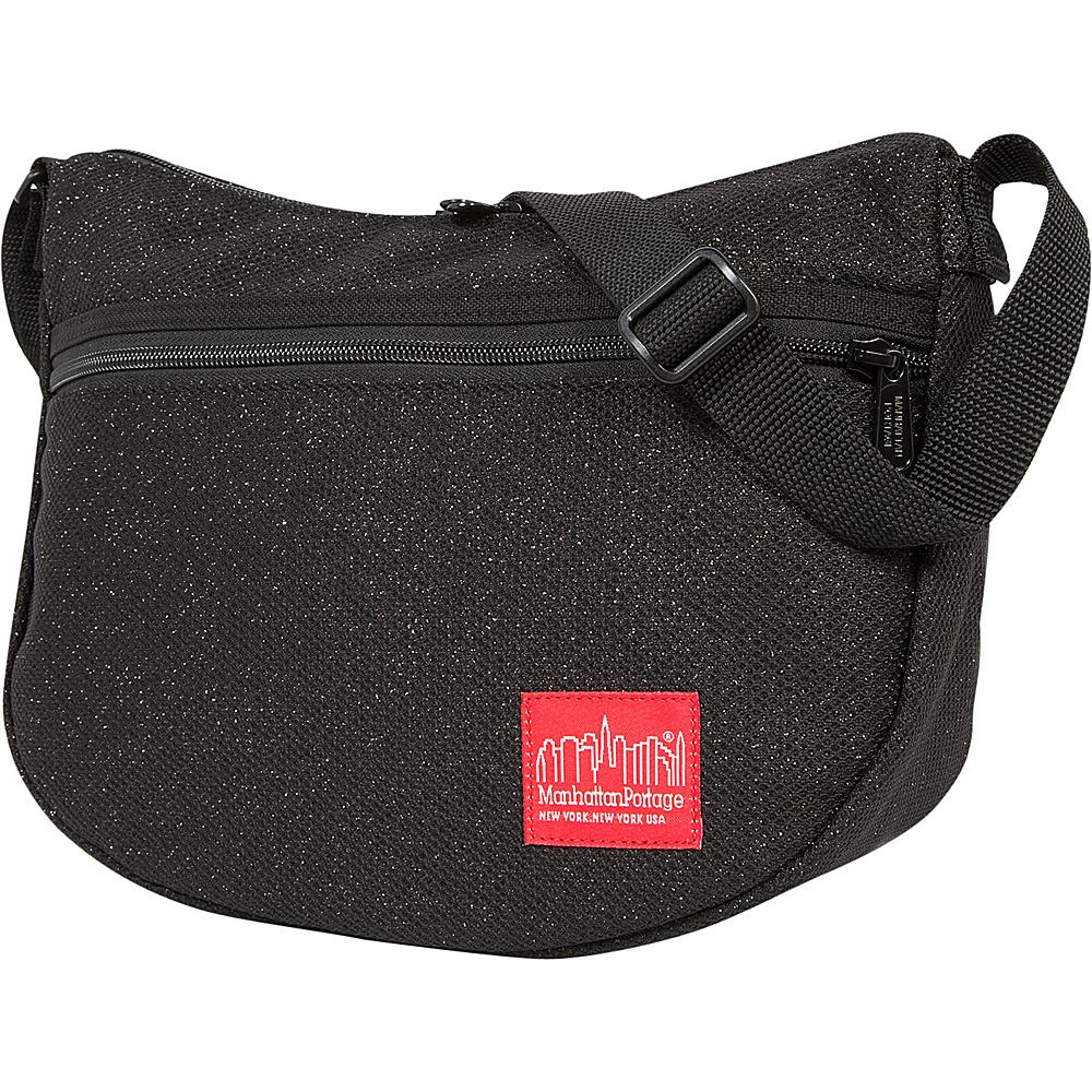 Manhattan Portage Midnight Bowling Green Shoulder Bag Black - Manhattan Portage Designer Handbags - Handbags, Designer Handbags