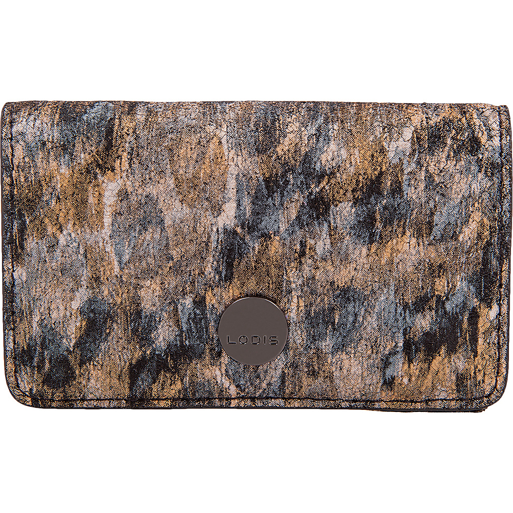 Lodis Roar RFID Mini Card Case Toffee - Lodis Womens Wallets - Women's SLG, Women's Wallets