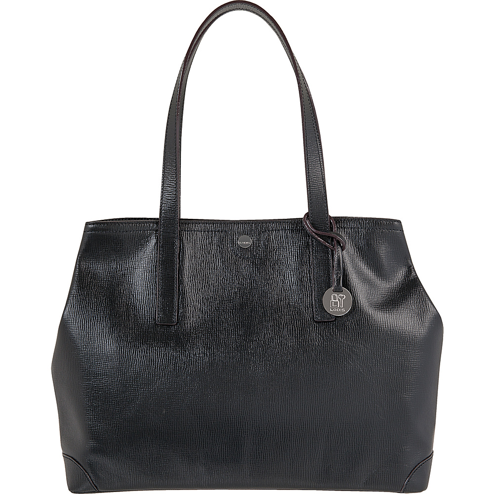 Lodis Business Chic RFID Louisa Work Tote Black - Lodis Womens Business Bags - Work Bags & Briefcases, Women's Business Bags