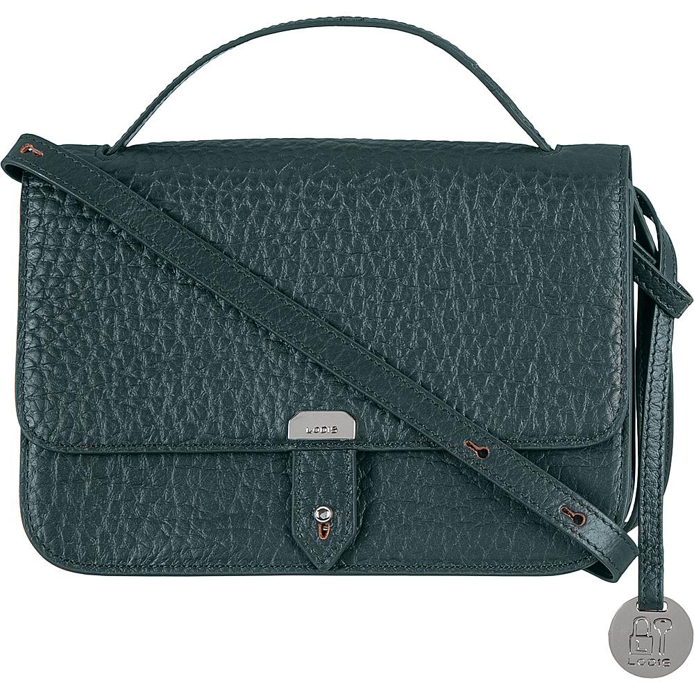 Lodis Borrego RFID Johanna Crossbody Forest - Lodis Leather Handbags - Handbags, Leather Handbags