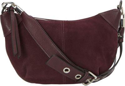 La Diva Remi Crossbody Bordeaux - La Diva Manmade Handbags