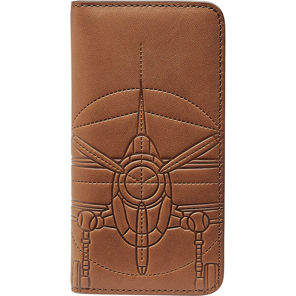 Fossil Plane Phone Wallet Cognac - Fossil Electronic Cases - Technology, Electronic Cases