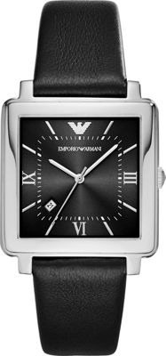 Emporio Armani Dress Watch Black - Emporio Armani Watches