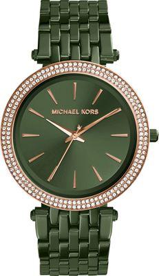 Michael Kors Watches Darci Three-Hand Watch Green - Michael Kors Watches Watches