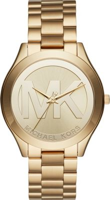 Michael Kors Watches Slim Runway Three-Hand Watch Gold - Michael Kors Watches Watches