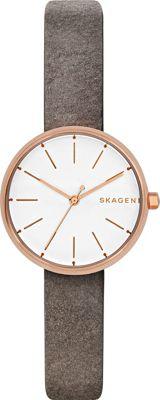 Skagen Signatur Watch Grey - Skagen Watches