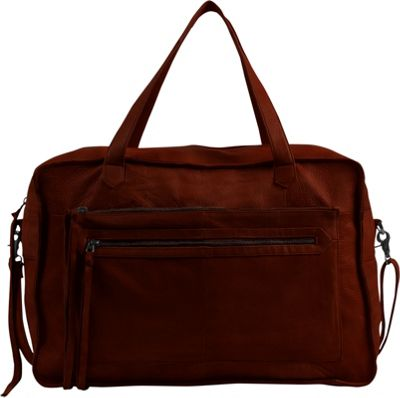 Day & Mood Anni Weekender Bag Rusty Red - Day & Mood Leather Handbags