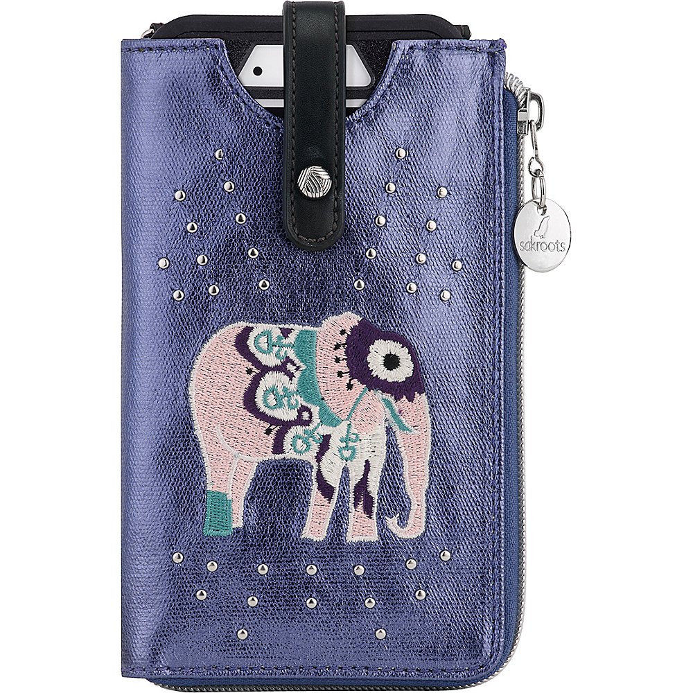 Sakroots Ella Smartphone Sling Crossbody Violet One World - Sakroots Electronic Cases - Technology, Electronic Cases
