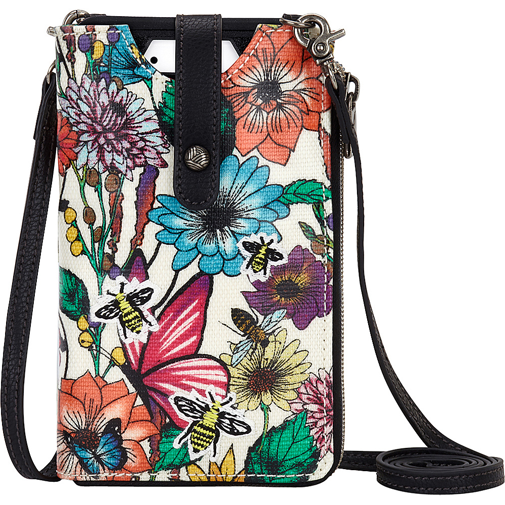 Sakroots Ella Smartphone Sling Crossbody Optic In Bloom - Sakroots Electronic Cases - Technology, Electronic Cases